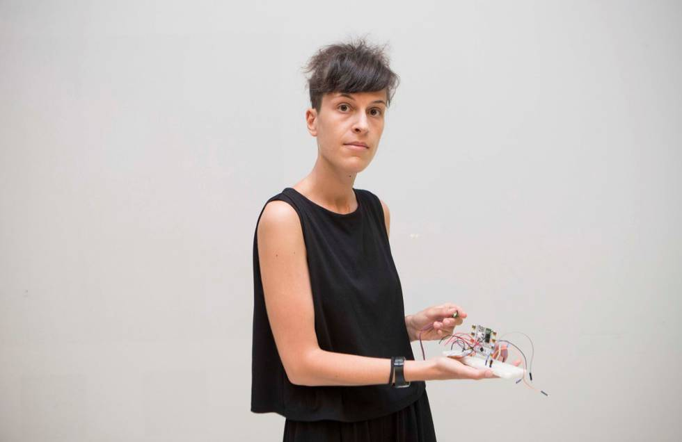"""Marta Pérez Campos: """"El público puede apropiarse del arte al colgar todo en internet"""""""