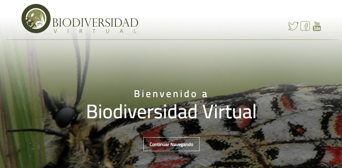 La plataforma de ciencia ciudadana: Biodiversidad Virtual. Por Antonio Ordóñez