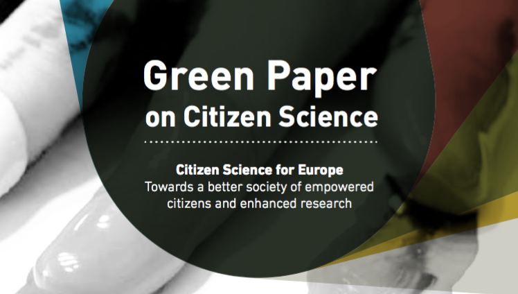 Green Paper on Citizen Science