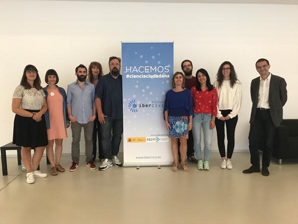 Tercera fase del Observatorio de la Ciencia Ciudadana en España. Autor: Fundación Ibercivis