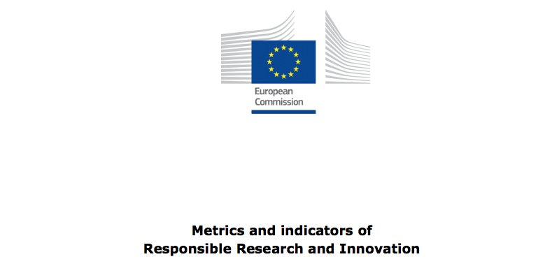 Metrics and indicators of Responsible Research and Innovation