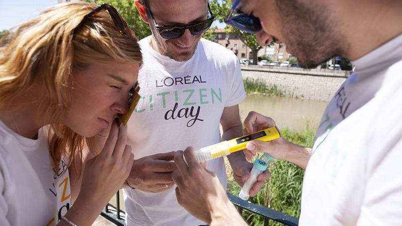 Matadero Madrid y 500 empleados voluntarios de L'Oreal elaboran un análisis del cambio climático en el río Manzanares