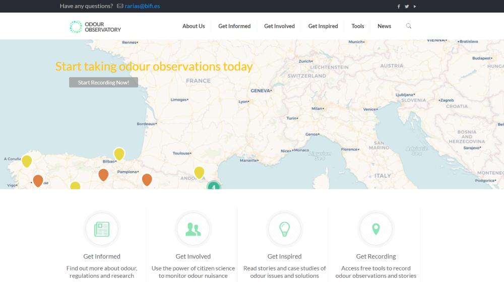 Presentado el Observatorio Internacional del Olor, liderado por el proyecto europeo D-Noses