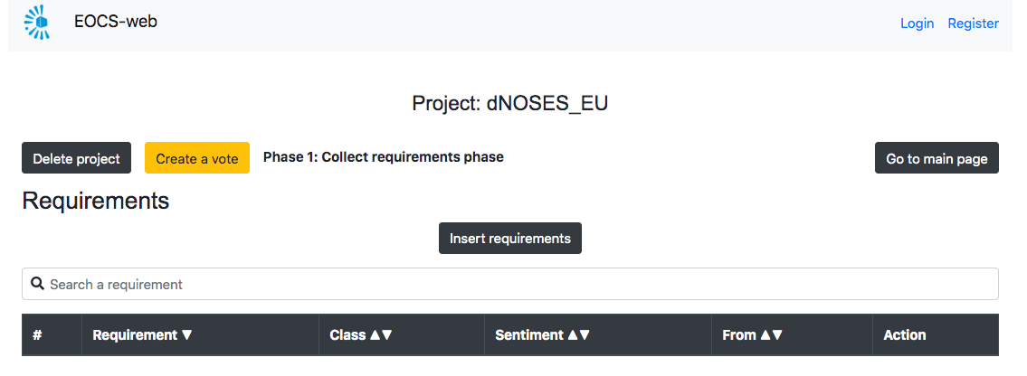 Proyecto EOCS (EXPLORING OPENREQ ON CITIZEN SCIENCE) para la mejora de las apps de ciencia ciudadana